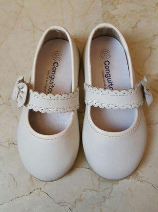 Zapatos Conguitos. Talla 21.