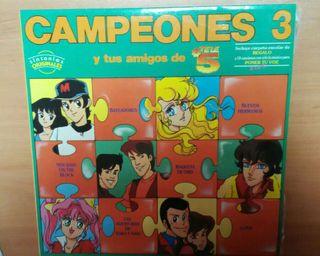 LP Campeones 3, disco vinilo doble