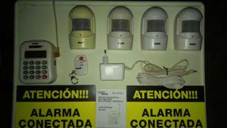 Alarma hogar inalambrica con avisador telefonico