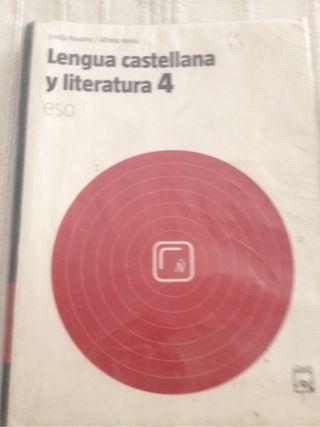 Libro 4 ESO de Lengua Castellana