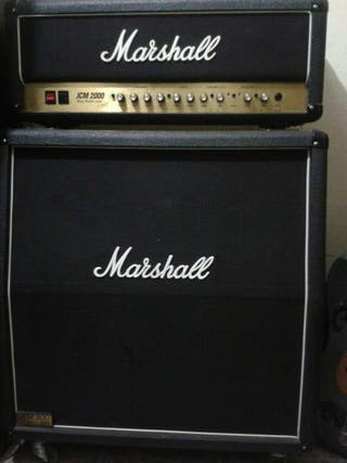 Amplificador de guitarra marshall jcm 2000
