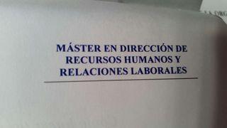 Master en Direccion de Recursos Humanos y Relaciones Laborales. REBAJADO