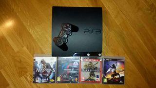 PlayStation3 con juegos
