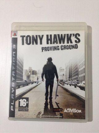 Tony Hawks Ps3