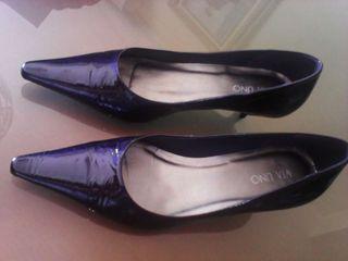 Zapatos charol señora talla 39