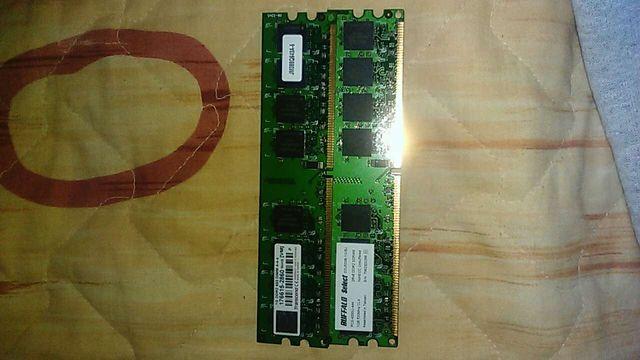 RAM ddr2 2gb (1gb x 2)
