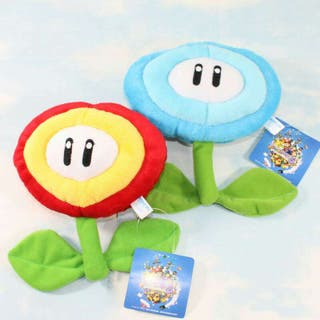 Super Mario Bros Ice Flower y Fire Flower