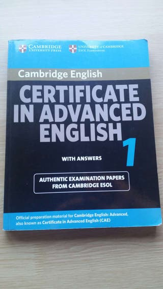 Libro certificated in advanced english