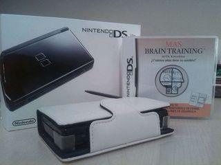 Nintendo ds lite + funda + juego