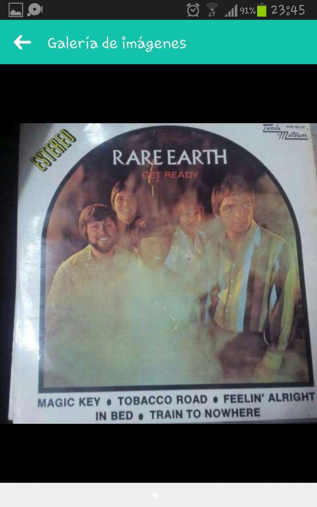 Disco vinilo Rare earth Get Ready