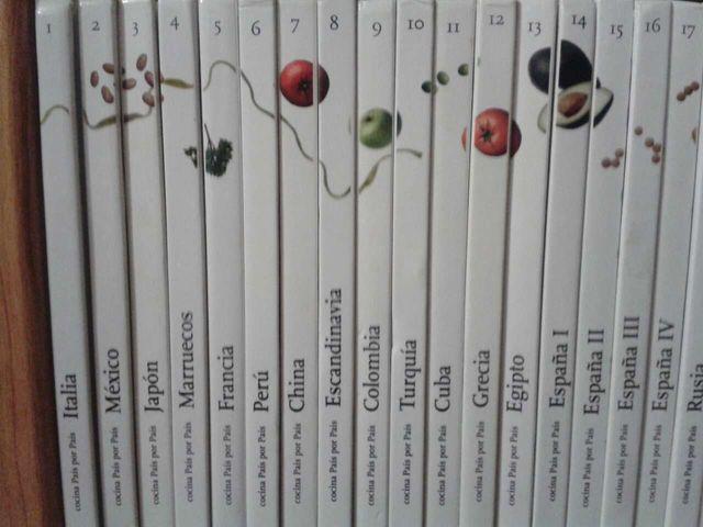 Coleccion completa-Cocina Pais a Pais-25 libros de segunda mano por ...