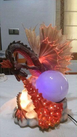 Lámpara de dragón