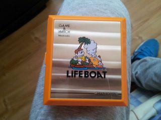 nintendo Game y watch life boat