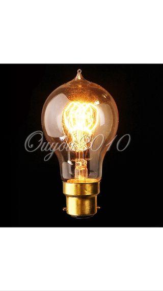 4 Bombillas Estilo Vintage Edison