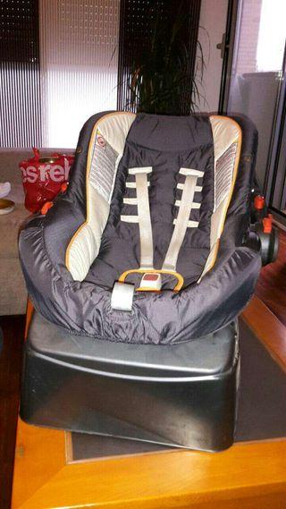 Chicco silla de bebe para coche grupo 0 de segunda mano for Silla coche bebe grupo 0