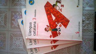 Llibres llengua catalana 3 primaria