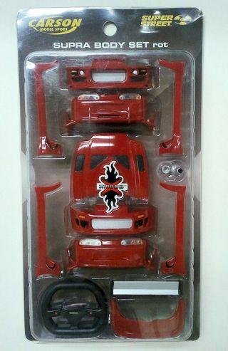 Kit Carroceria Xmods Toyota Supra Rojo