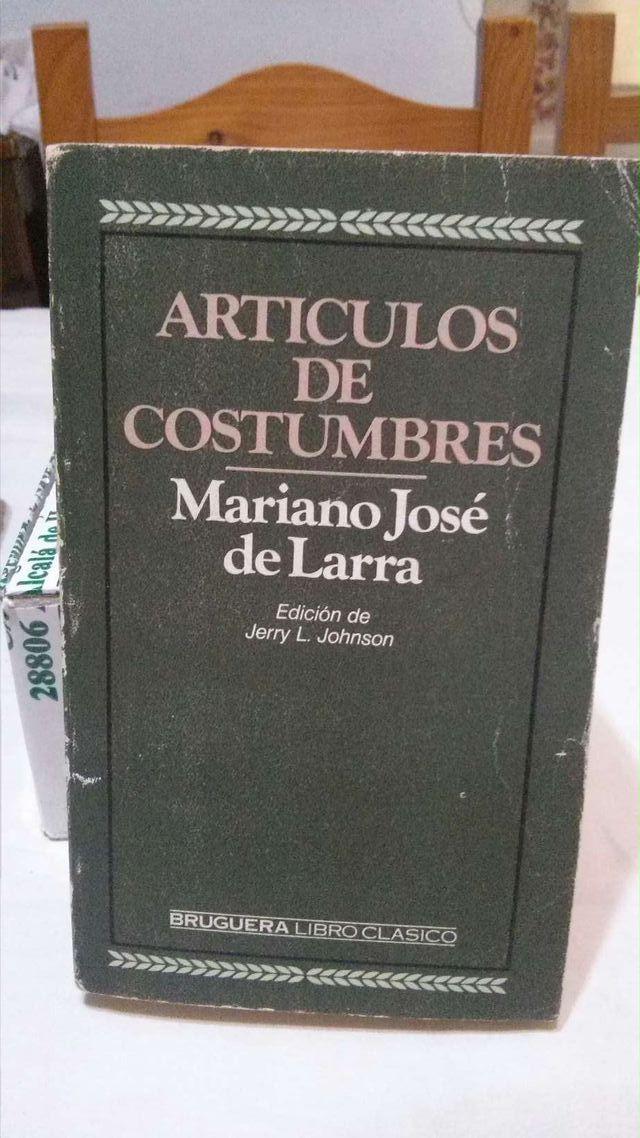 Libro lectura obligatoria Instituto