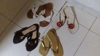 Varias sandalias