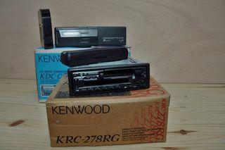 Radio Cd Con Cargador De 6 Cds Kenwood
