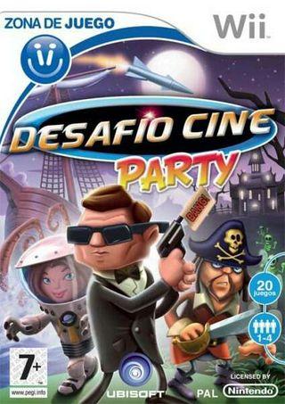 Juego desafio cine party para wii