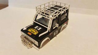 Carrocería scalextric Land Rover de sts exin