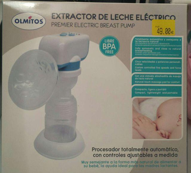 Extractor de llet elèctric