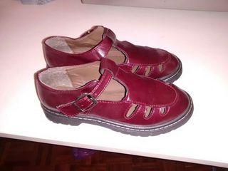 Zapatos granates T37