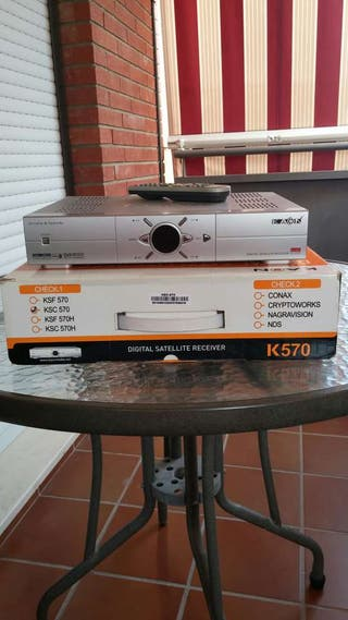 Decodificador Tv Digital Satelite KAON K570