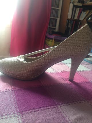 Chaussure pailletée