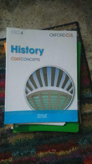 LIBRO DE HISTORIA EN INGLES 4 ESO