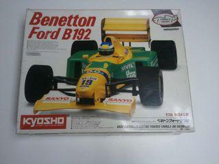 Kyosho Benneton Ford B192 F1 1/10 Electrico