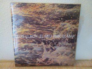 Lluís Llach LP El meu amic el mar 1978