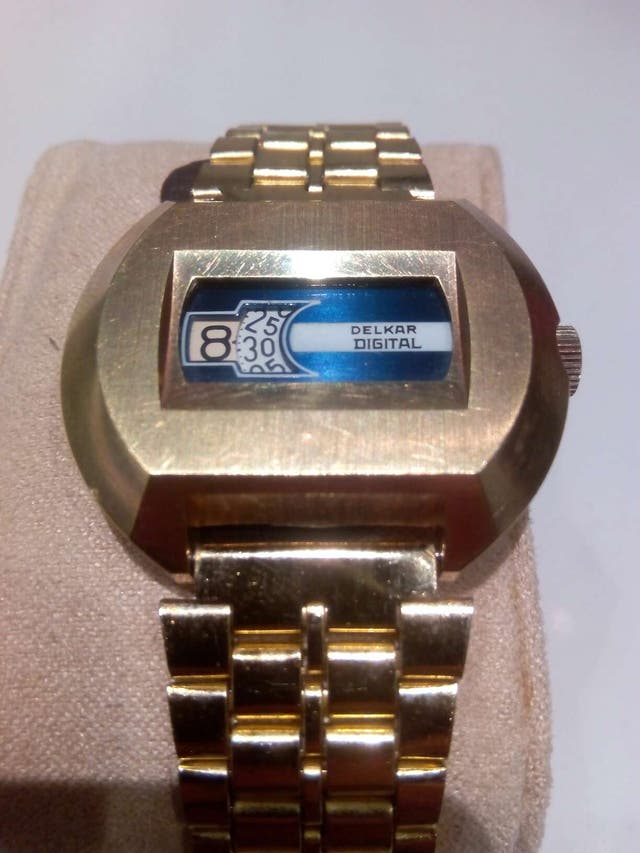 Reloj Delkar antiguo