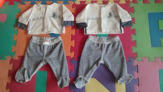 Conjunto Prenatal talla 00 prematuros 0 1 mes
