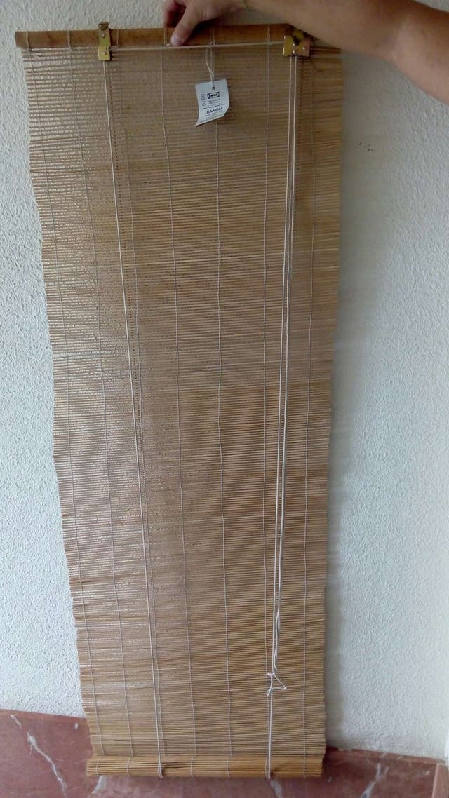 Estor bambu ikea beautiful colocar cuerda estor bambu with colocar cuerda estor bambu estor - Mosquiteras enrollables aki ...