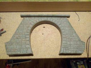 Boca de tunel escala H0