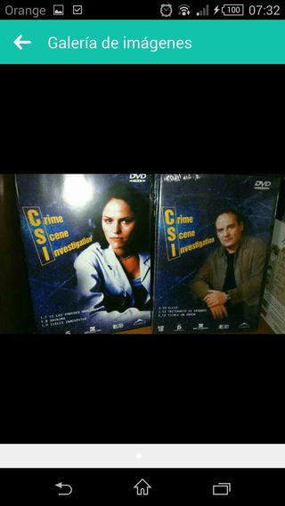 Colección DVD de CSI