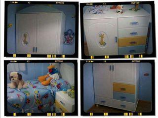Habitación de niño completa