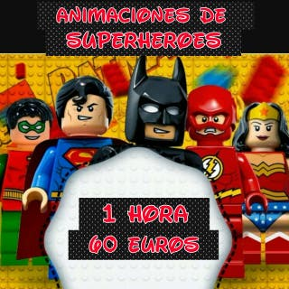 Animaciones de superheroes