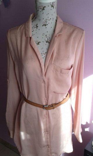 Camisa rosa palo h&m