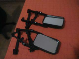 Dos espejos prolongadores de retrovisor