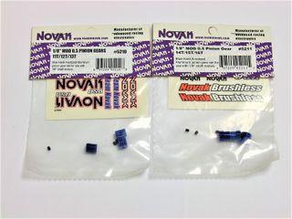 "Piñones motor Novak 1/8"" MOD 0.5"