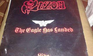 Vinilo saxon,the eagle has landed