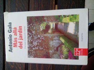 Libro Más allá del jardín Antonio gala