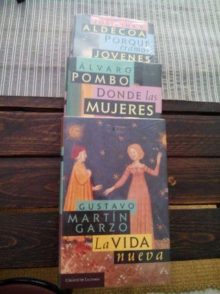 3 libros sin desprecintar