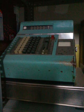 maquina registradora antigua.