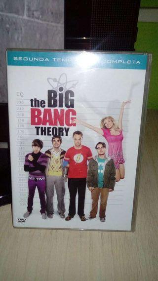 the big bang theory, segunda temporada completa
