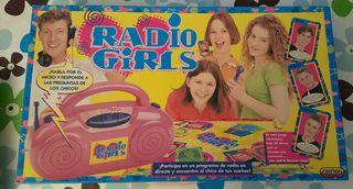 Juego mesa RADIO GIRLS