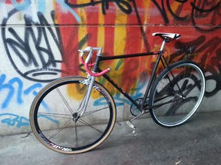 Fixed fixie con pedal libre